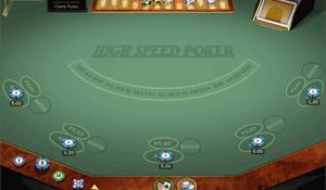 Multi Hand High Speed Poker Gold